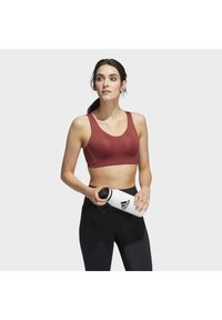 adidas Performance - STRONGER FOR IT ALPHA BRA - High support sports bra - red - 3