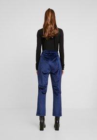 Fashion Union - ELVIS TROUSER - Trousers - navy - 2