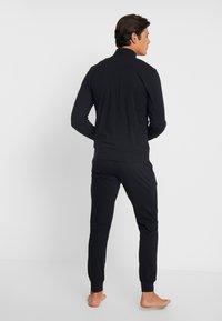 Emporio Armani - BASIC LOUNGEWEAR  - Pyjama - black - 2