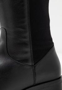Clarks - PURE CADDY - Kozačky nad kolena - black - 2