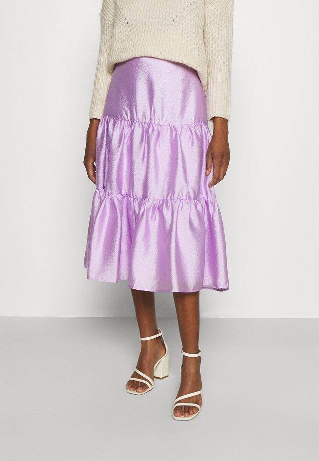 LOLITA SKIRT - Spódnica trapezowa - light purple