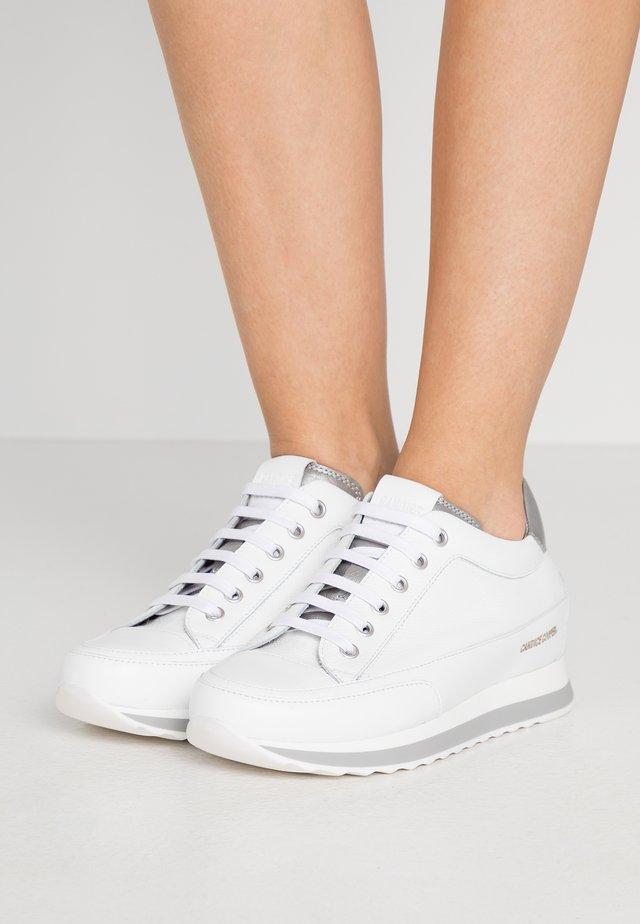 Sneakers basse - panama bianco