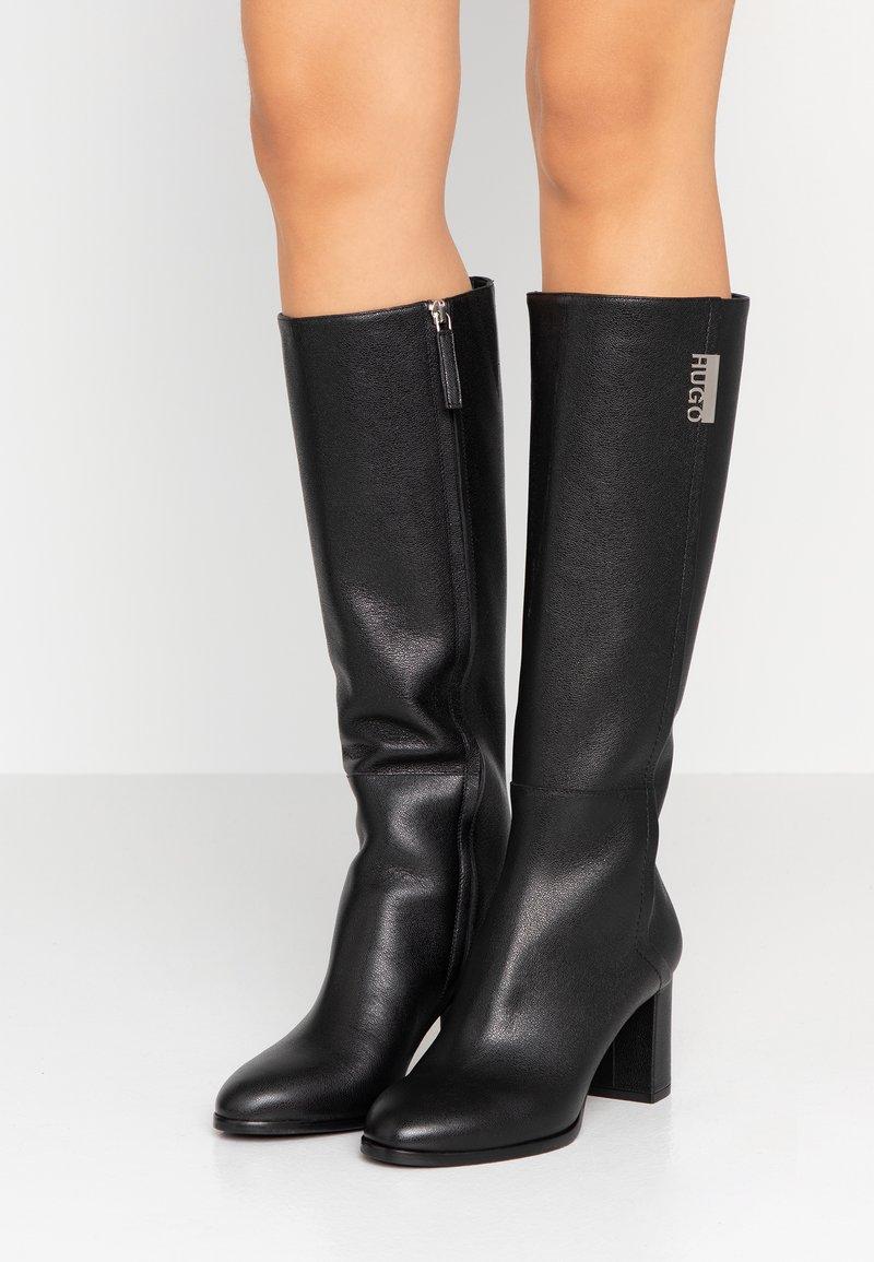 HUGO - VICTORIA BOOT - Boots - black