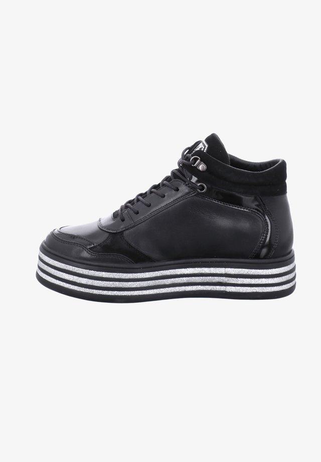 PAVIA  - Lace-up ankle boots - schwarz