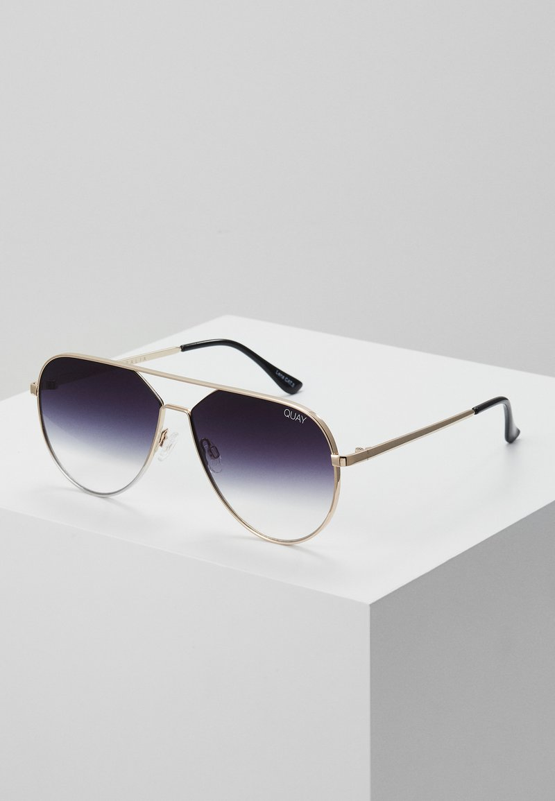 QUAY AUSTRALIA - HOLD PLEASE - Sunglasses - gold-coloured