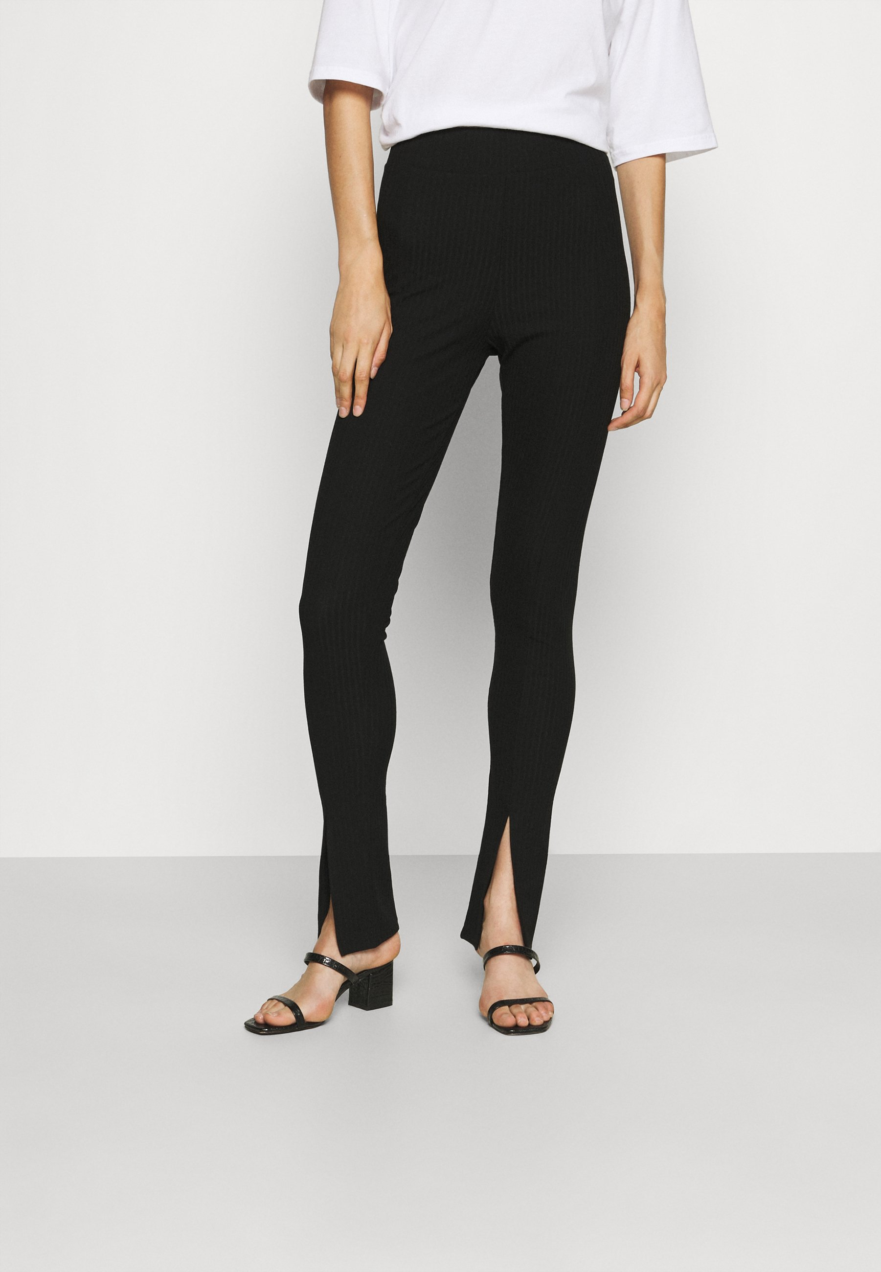 Women ONLNELLA SLIT PANT - Trousers
