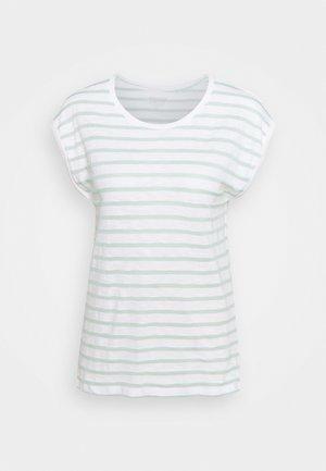 TEE STRIPE - Print T-shirt - white