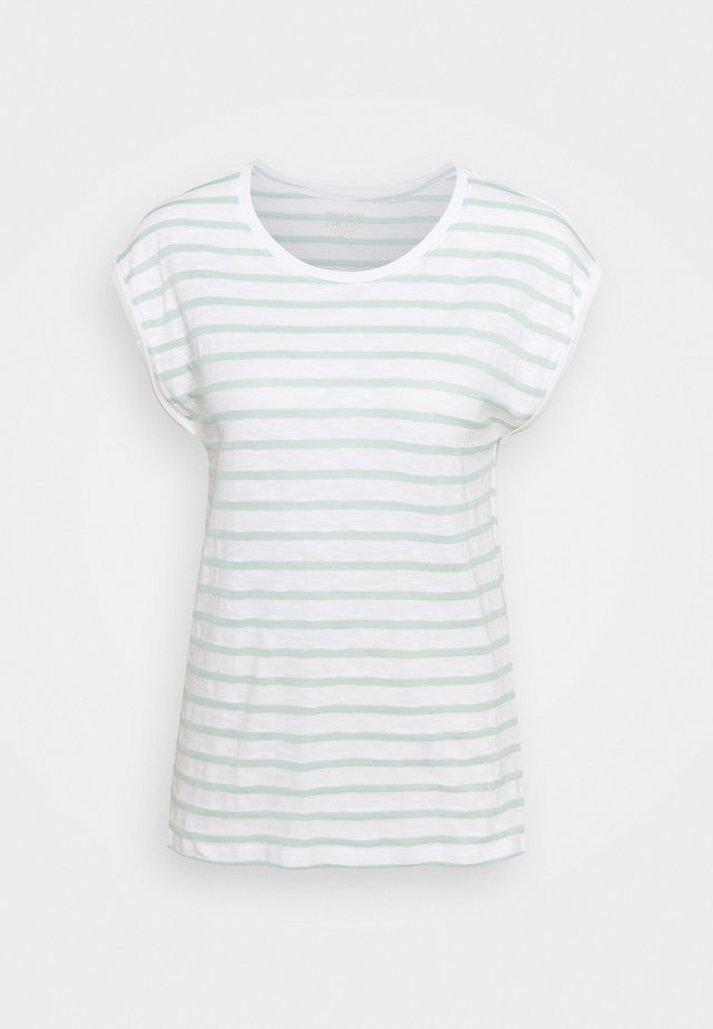 TEE STRIPE - T-Shirt print - white
