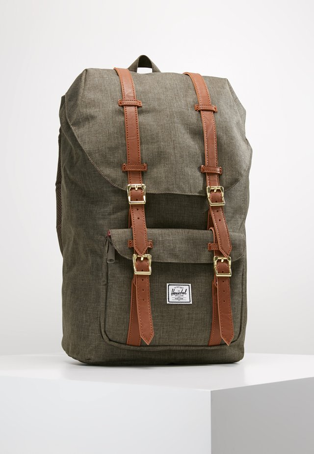 LITTLE AMERICA  - Mochila - canteen crosshatch/tan