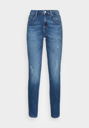 FREJA - Relaxed fit jeans - stone melange