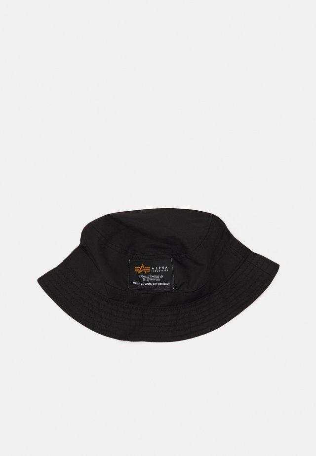 CREW BUCKET HAT UNISEX - Hut - black