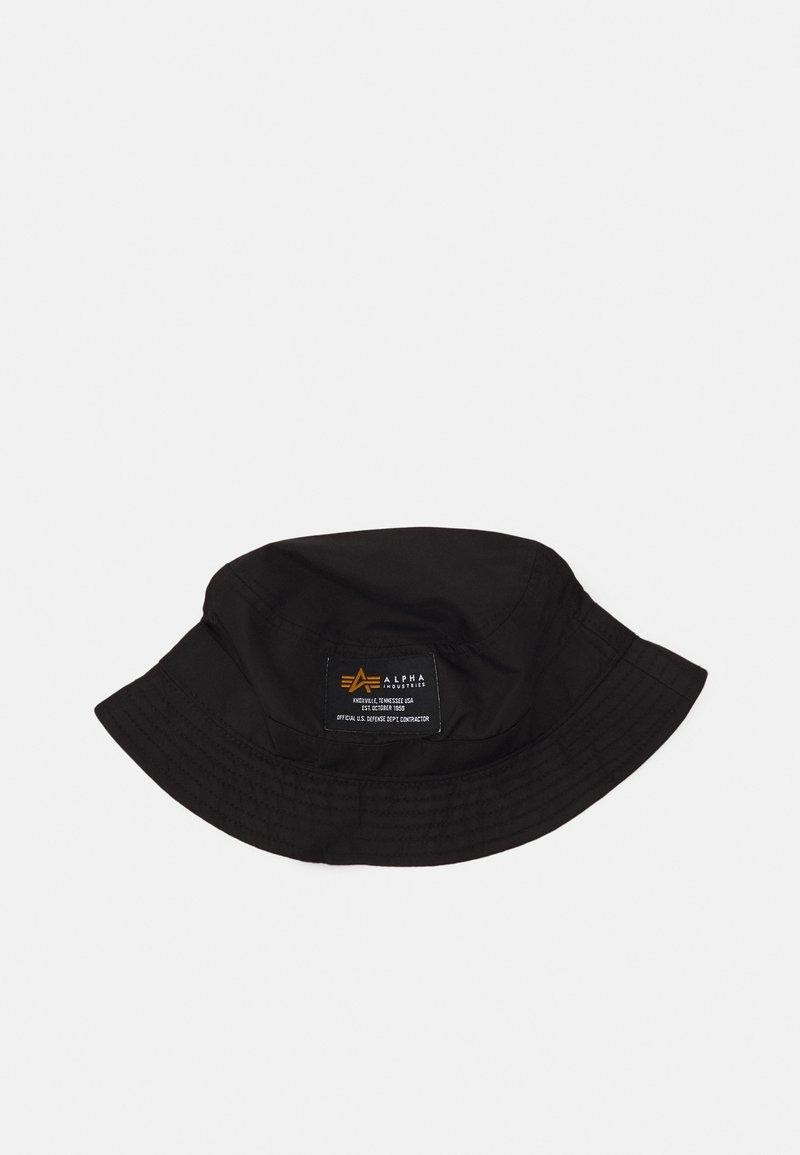 Alpha Industries - CREW BUCKET HAT UNISEX - Hatt - black