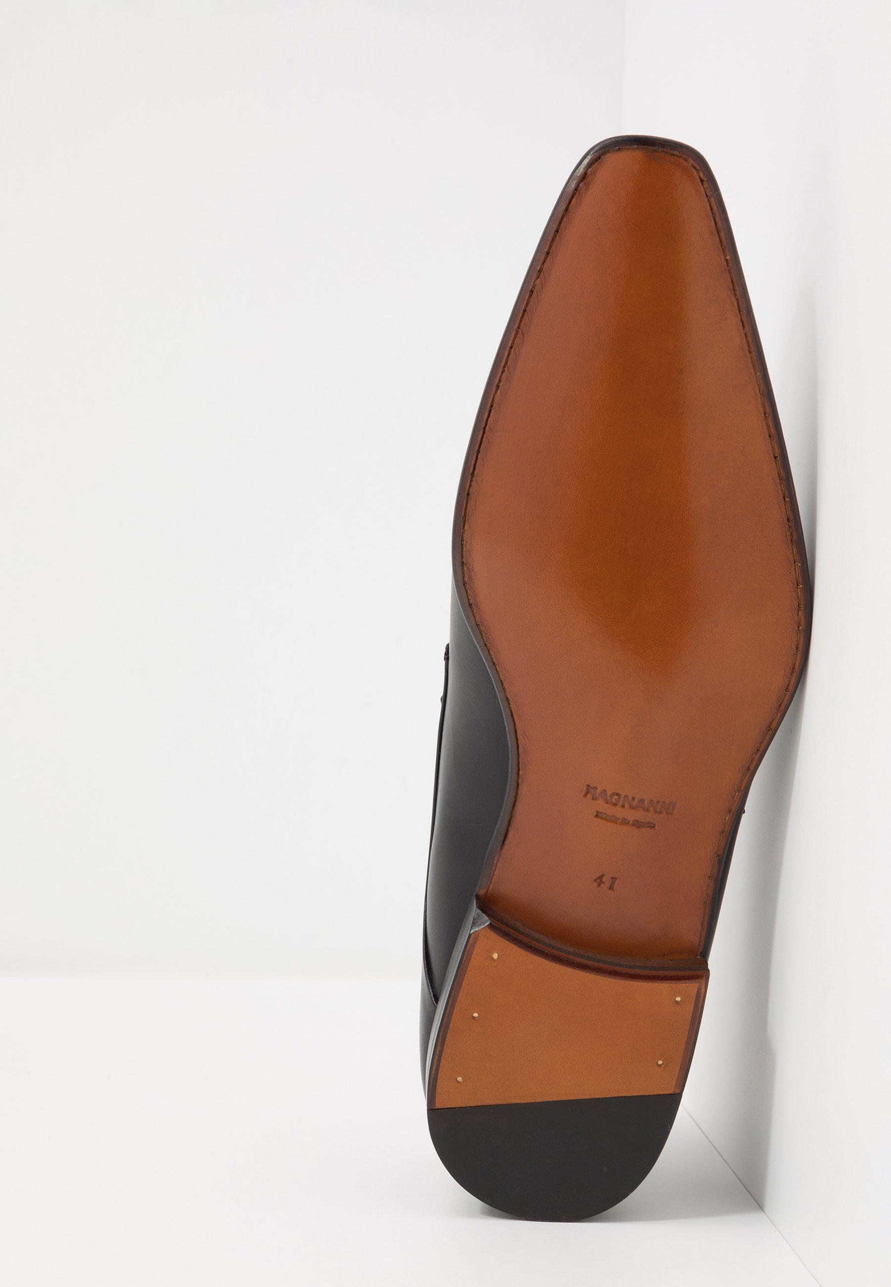 tanio Najtańsze Magnanni Eleganckie buty - black | Obuwie męskie 2020 EwGL9