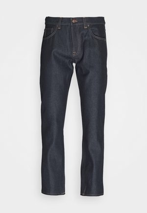 GRITTY JACKSON - Jeans Straight Leg - dark blue denim
