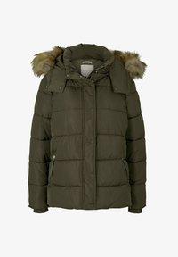TOM TAILOR DENIM - Winter jacket - deep olive green - 3