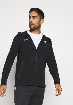 LIVERPOOL FC HOOD  - Club wear - black/white
