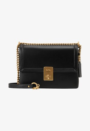 REFINED HUTTON SHOULDER BAG - Handtasche - black