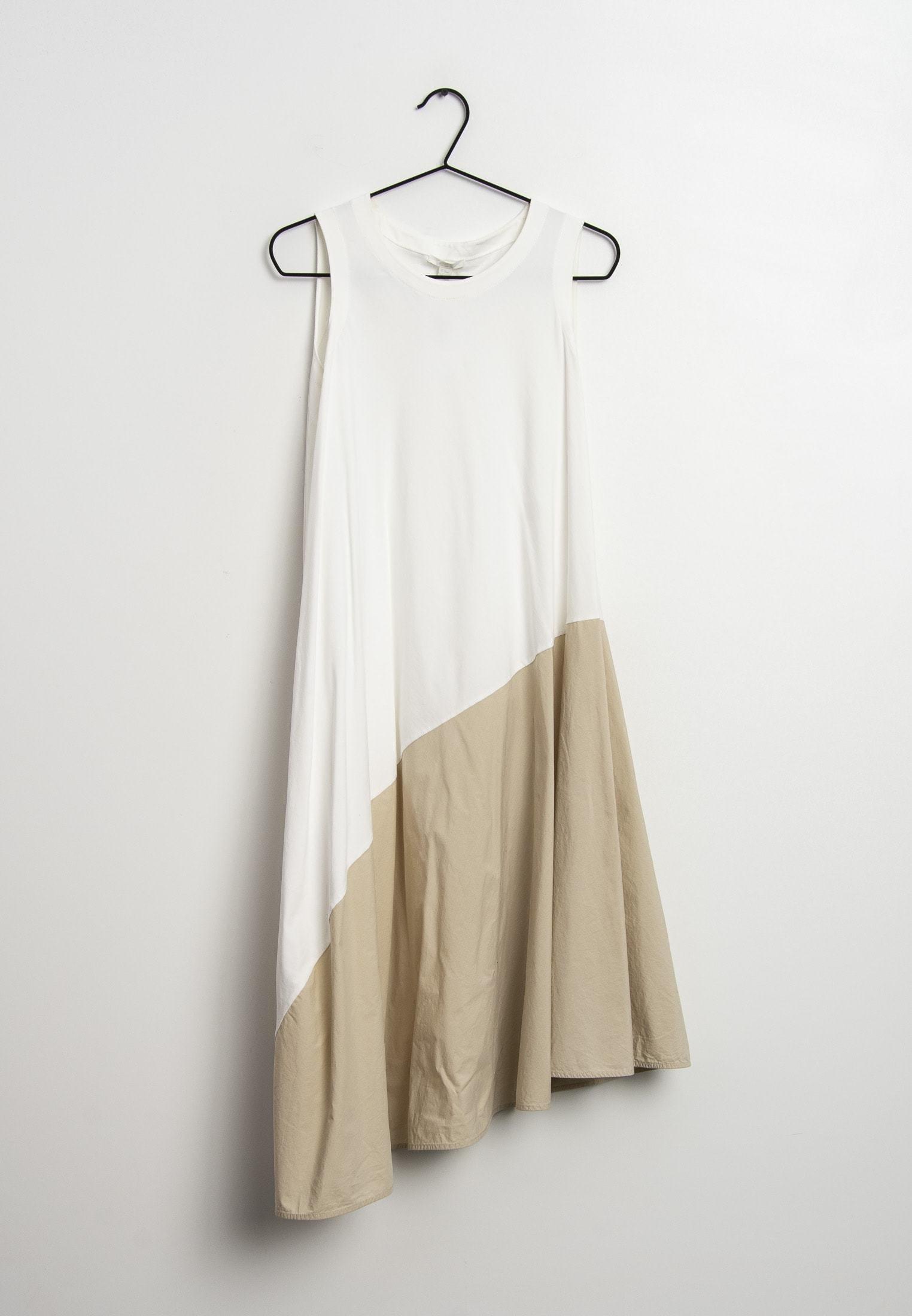 cos kleid weiss - freizeitkleid - white