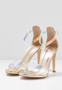 Trendyol - High heeled sandals - gold - 4