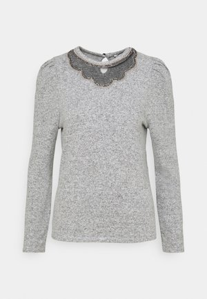 LOLINE - Strikpullover /Striktrøjer - gris chine