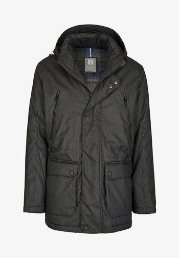 MIT VIELEN DETAILS - Winter jacket - dunkelgrã¼n