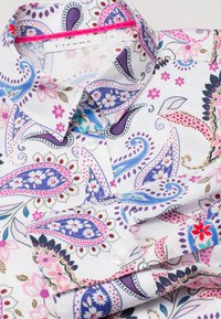 Eterna - MODERN CLASSIC - Button-down blouse - blue/pink/white - 2
