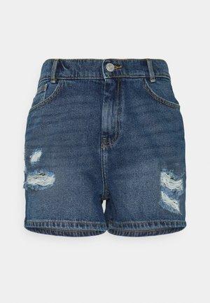 NMLOTTIE SKATE - Denim shorts - medium blue denim