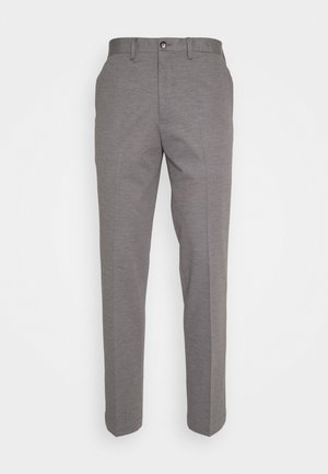 SLHSLIM JIM FLEX - Pantalones - light grey melange