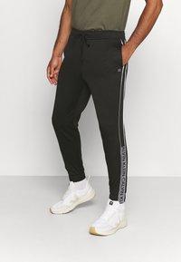 Calvin Klein Performance - PANT - Tracksuit bottoms - black/bright white - 0