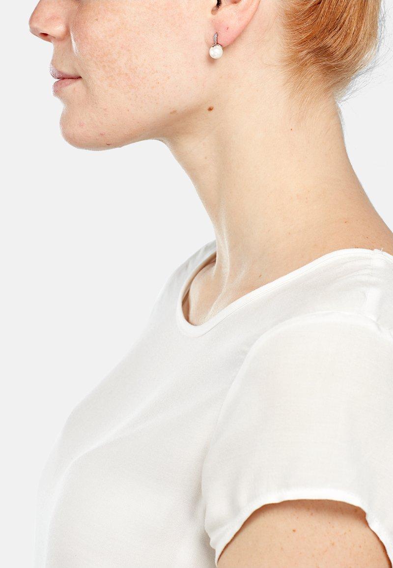 Heideman - NIEVES  - Earrings - silberfarben poliert