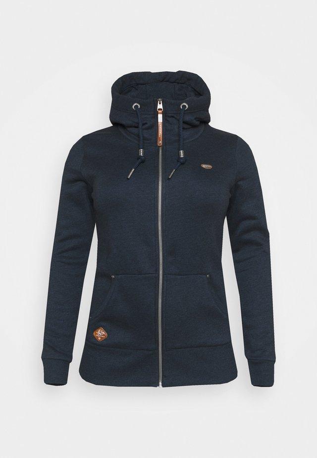 NESKA ZIP - veste en sweat zippée - navy