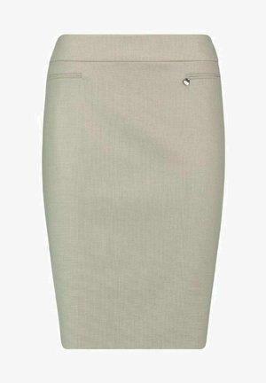 GEWEBE - Pencil skirt - sand melange minibild