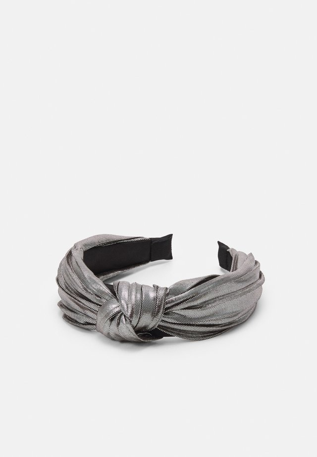 WIN METALLIC KNOT - Håraccessoar - silver-coloured