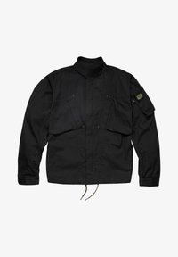 G-Star - SPORTY SLANTED POCKET INDOOR - Summer jacket - dk black - 4