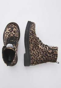 British Knights - SNEAKER BLAKE - Ankle boots - brown leopard - 2