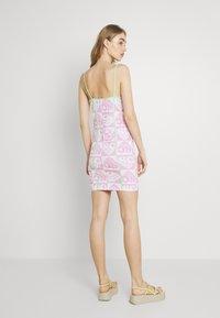 NEW girl ORDER - HEART REPEAT LOGO DRESS - Day dress - pink - 2