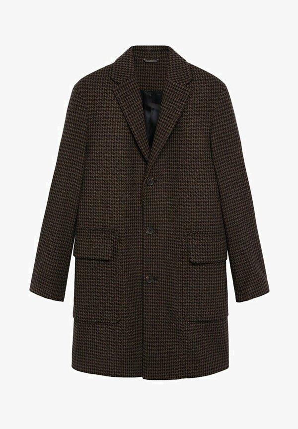 Mango DEVON - KrÓtki płaszcz - braun/brązowy Odzież Męska AOBT