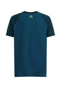 WE Fashion - Print T-shirt - petrol - 4