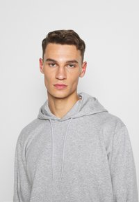 adidas Performance - BOXBOS - Hoodie - medium grey heather - 3