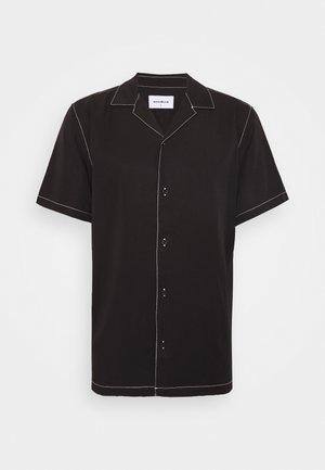 FONTRA STITCH - Camicia - black