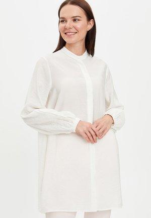 TUNIC - Long sleeved top - ecru