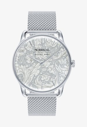 UHR MORRIS & CO SILVER BACHELORS BUTTON MESH 38MM - Watch - white