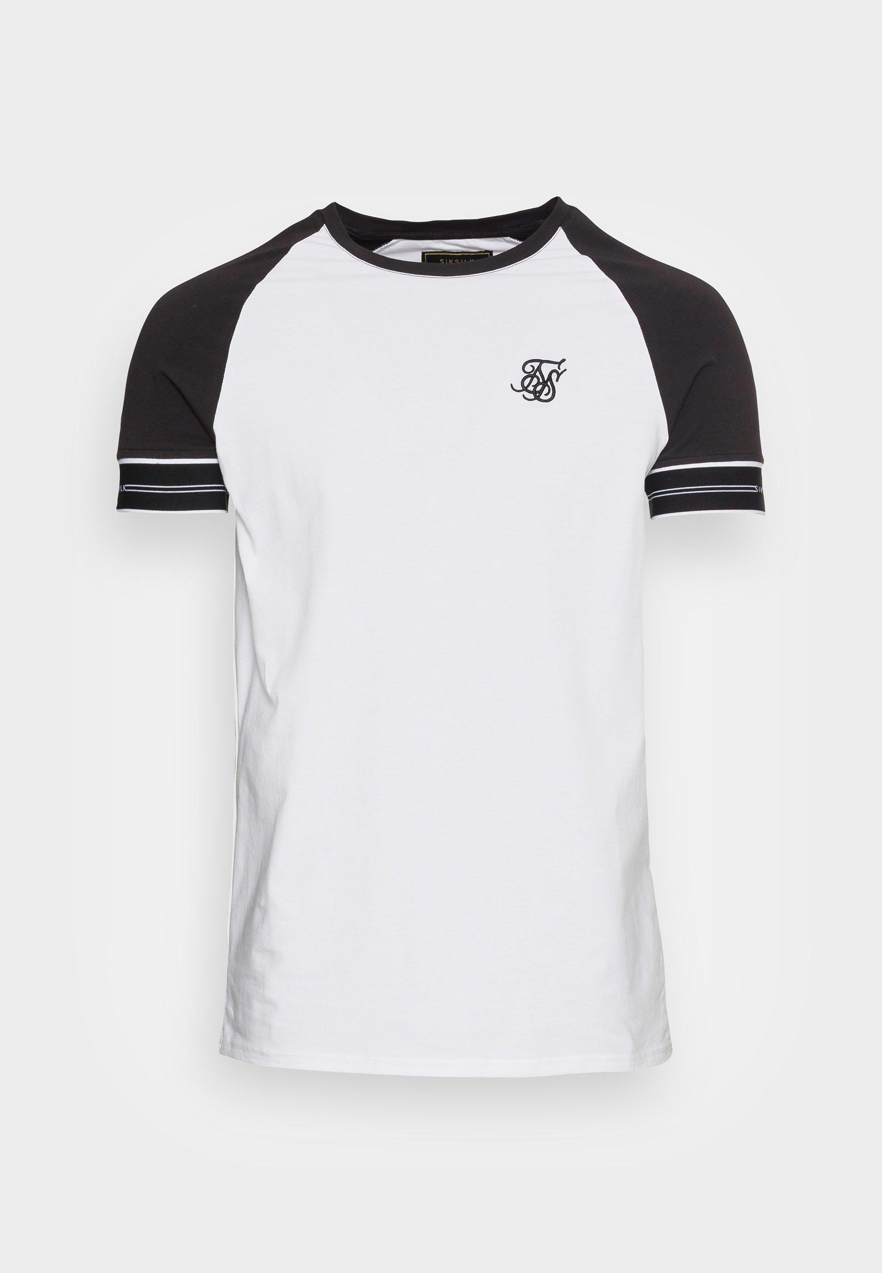 Herrer STATUS TAPE TEE - T-shirts basic