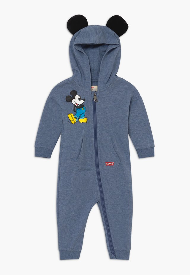 PLAY ALL DAY DISNEY MICKEY MOUSE BABY - Jumpsuit - navy heather