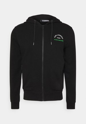 HOODY - Sweatjacke - black