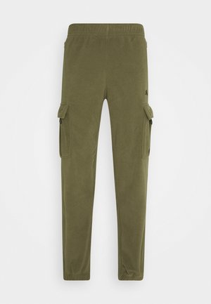 NOVELTY PANT UNISEX - Cargobyxor - medium olive/electro orange/black