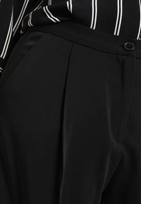 Monki - TARJA TROUSERS - Tygbyxor - black - 5
