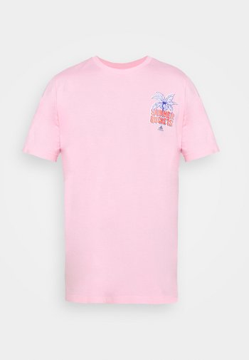 SUMMER BASKETBALL GRAPHICS - Camiseta estampada - light pink