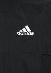 adidas Performance - ZIP - Tuta - black/black/vivgreen - 8
