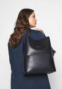 Tommy Hilfiger - ICONIC BACKPACK - Rucksack - blue - 0